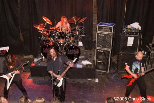 deicide live photos june 14 2005 at studio seven