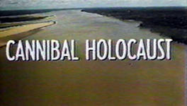 Cannibal Holocaust Title capture