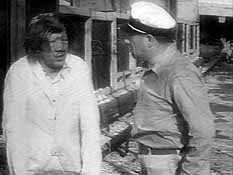 Captain Davies yells at Ling
